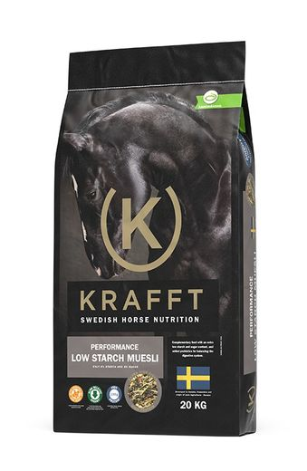 Krafft Performance Low Starch Mysli, 20 kg